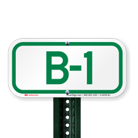 Parking Space Signs B-1