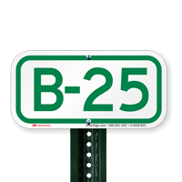 Parking Space Signs B-25