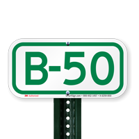 Parking Space Signs B-50