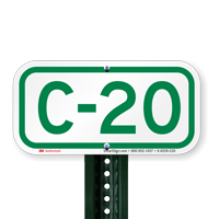 Parking Space Signs C-20