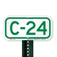 Parking Space Signs C-24
