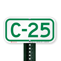 Parking Space Signs C-25