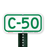 Parking Space Signs C-50