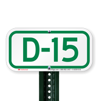 Parking Space Signs D-15