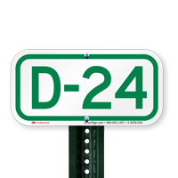 Parking Space Signs D-24