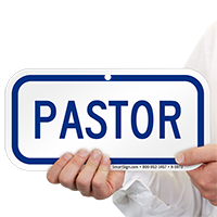 PASTOR Signs