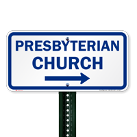 Presbyterian Church Signs