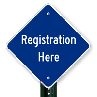 REGISTRATION HERE Signs