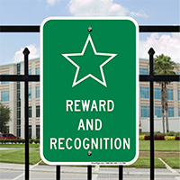 REWARD AND RECOGNITION Signs