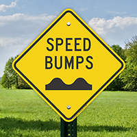 Speed Bumps Signs