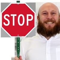 LawnBoss® STOP Sign