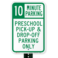 Time Limit Parking Sign