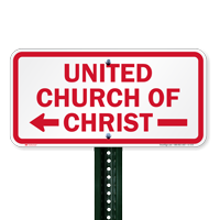 United Church Of Christ Signs