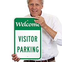 WELCOME VISITOR Signs