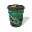 Portable Bucket with 100 ft. Plastic Chain