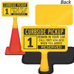 Custom Single-Sided ConeBoss Sign