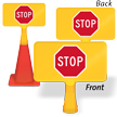 Stop Symbol ConeBoss Sign
