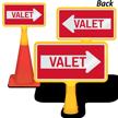 Valet Parking ConeBoss Sign