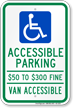 Missouri ADA Handicapped Parking Sign