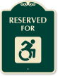 SignatureSign Reserved For with New Accessible Symbol