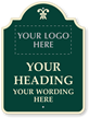 Custom Palladio Sign - Add Motif, Logo, Wording