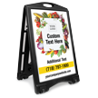 Add Your Logo Text BigBoss Portable Custom Sidewalk Sign