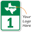 Add Your Phone Number And Logo Custom Curbside Pickup Sign