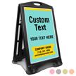 Add Your Text BigBoss Portable Custom Sidewalk Sign