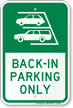 Parking Lot Sign