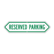 Bi-Directional Reserved Parking Sign