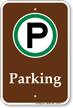 Campground Parking Sign