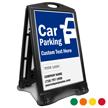 Car Parking BigBoss Portable Custom Sidewalk Sign
