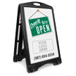 BigBoss A-Frame Portable Custom Sidewalk Sign