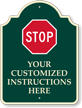 Custom Palladio™ Sign