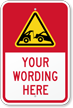 Custom Tow-Away Warning Message Sign