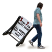 2 Sided Rolling Swinger Changeable Message Board Sign