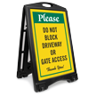 A-Frame Portable Sidewalk Sign Kit