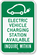Electrical Car Sign