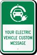 Custom Charging Station Sign