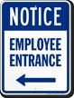 Notice Sign