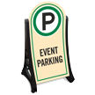 Event Parking Portable Sidewalk Sign Kit