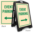 Event Parking Sidewalk Sign Kit