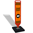 FlexPaddle Portable Exit Left Arrow Paddle