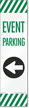 FlexPost Event Parking Left Arrow Decal