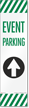 FlexPost Event Parking Straight Arrow Decal