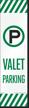 FlexPost Valet Parking Decal