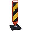 FlexPost Yellow Black Delineator Paddle Portable