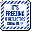 Ice Alert Sign