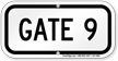 Gate ID Sign