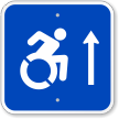 Handicap Symbol Sign